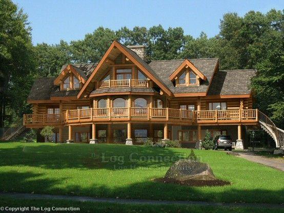 Oltre 25 fantastiche idee su case di tronchi su pinterest for Stili di log cabin