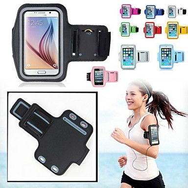 """DF Slim Trendy 5.7"""" Sport Armband for Samsung Galaxy Note 4/Note Edge and other phones(Assorted Color)"""