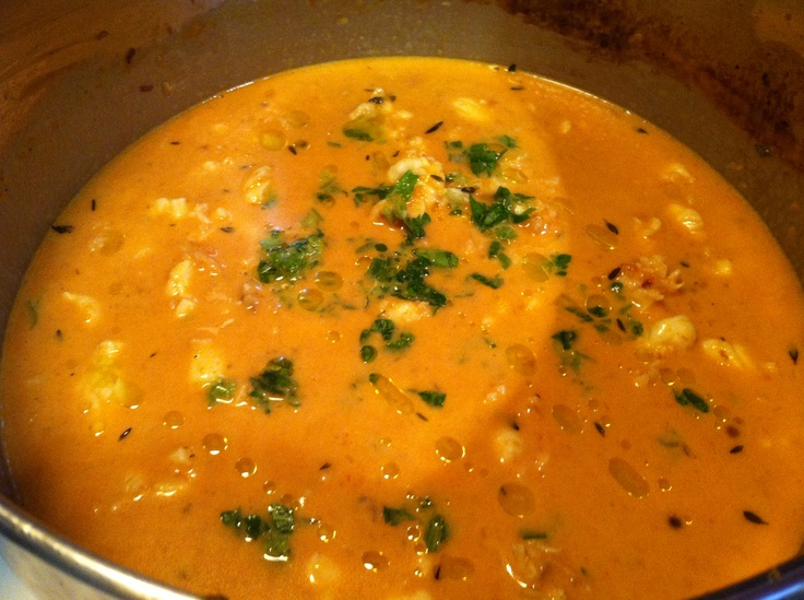 Easy lobster bisque. Email andimarie5@gmail.com for recipe From ...