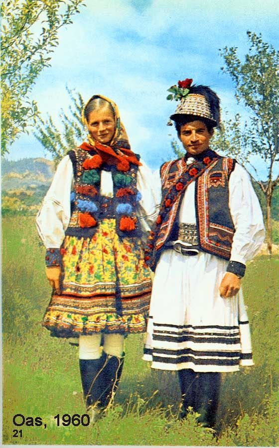 Folk costumes - Romanian, Maramures