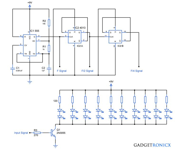 08f673f2e05a8ebff7b22b3d0363dbaa led diy circuit diagram lighten up this christmas with diy led lighting electronics  at edmiracle.co