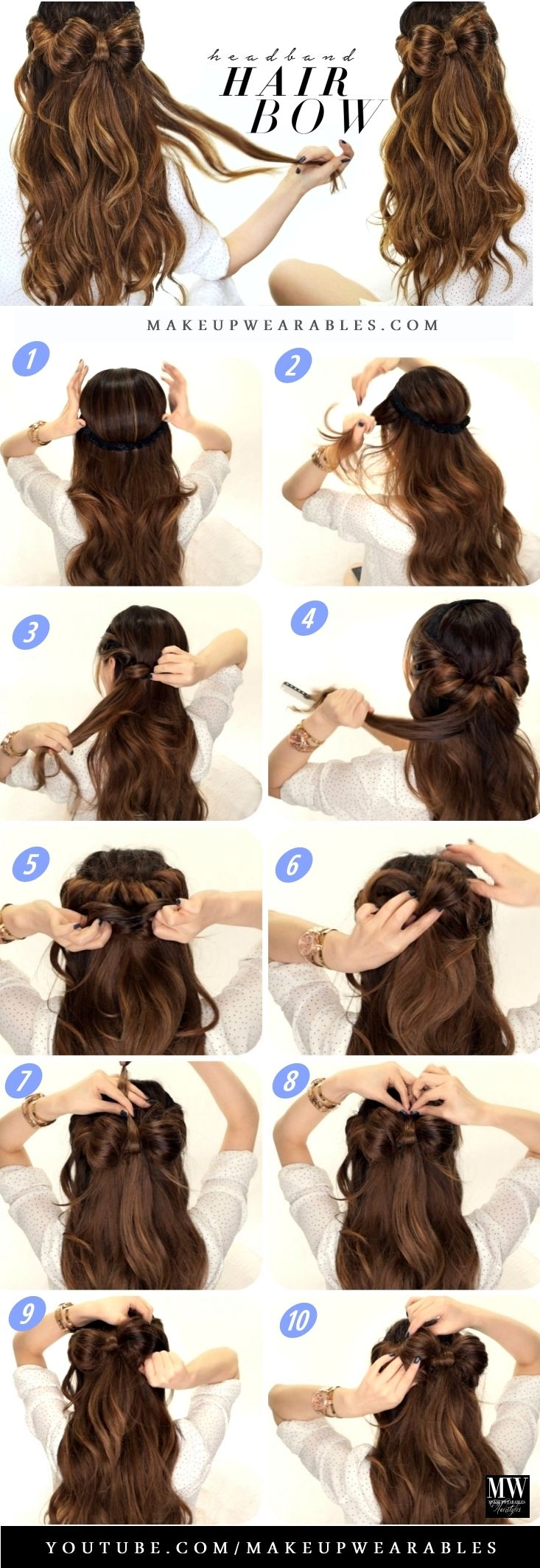 Magnificent 1000 Ideas About Bow Hairstyles On Pinterest Hair Bow Short Hairstyles For Black Women Fulllsitofus