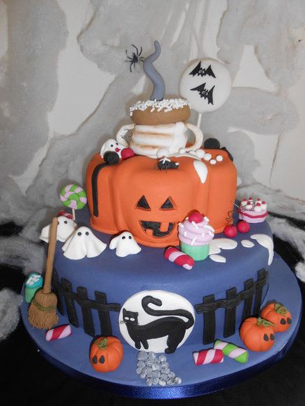 Dolcetto o scherzetto - by oriettabasso @ CakesDecor.com - cake decorating website