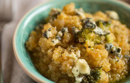 Risoto de Quinoa com Abóbora e Brócolis - Dedo de Moça