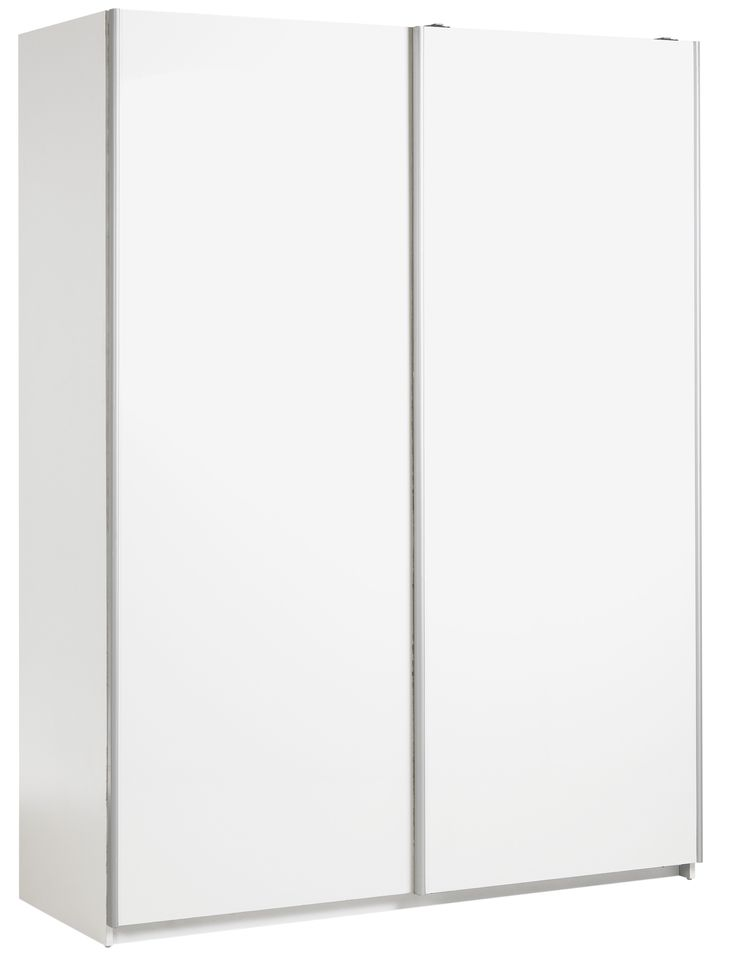 awesome Hygena Bergen Medium Sliding Wardrobe - White Gloss Check more at http://hasiera.co.uk/s/bedroom/product/hygena-bergen-medium-sliding-wardrobe-white-gloss/