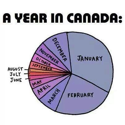 A year in Canada   ha ha   this is what it feels like!