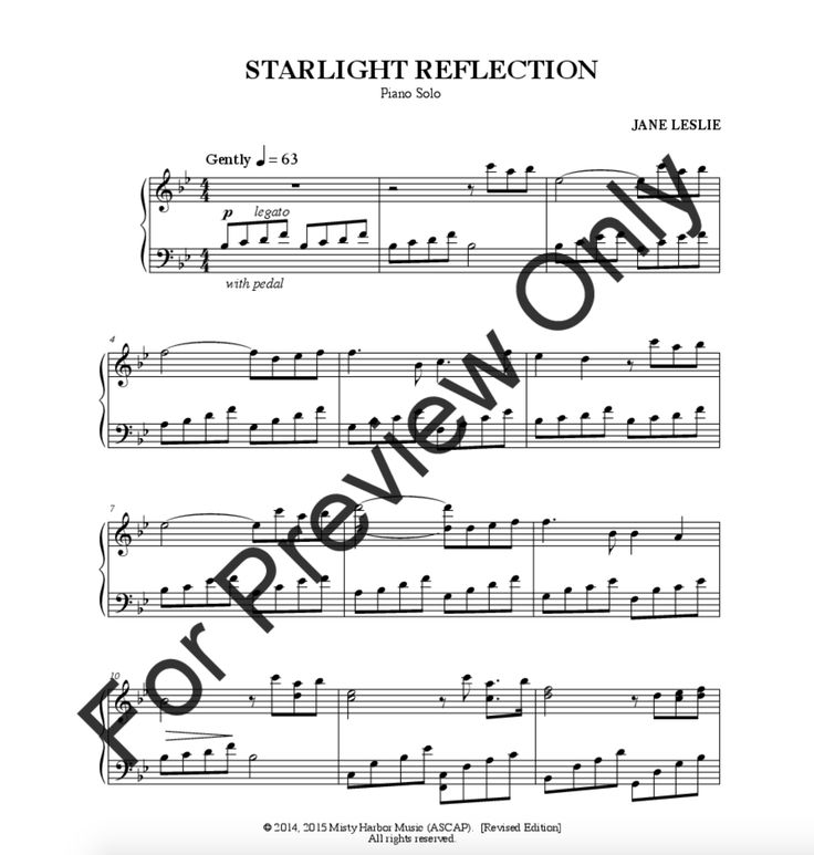 "Buy Sheet Music by Jane Leslie:   ""Starlight Reflection"" http://www.jwpepper.com/Starlight-Reflection/10555959.item#.V5vg8lfc_0c"