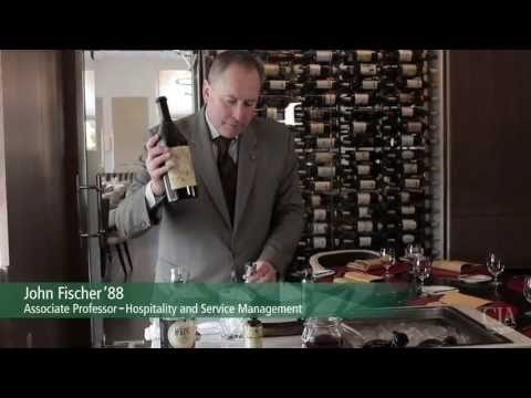 Want to learn how to mix a Smoked Manhattan? In this video, Associate Professor of Hospitality and Service Management John Fischer, shows you how! Enjoy one made table side here at The Bocuse Restaurant.