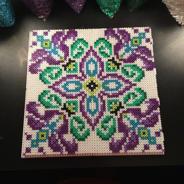 Hama perler bead design by aslaugsvava