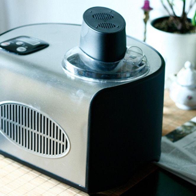 Unold Eismaschine De Luxe: Vanilleeis, Erdbeersorbet und Frozen Yogurt. Die Ergebnisse: durchweg lecker!