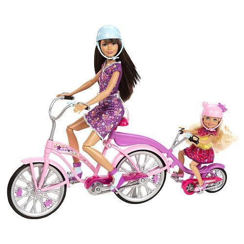 Barbie Sisters' Bike for Two [Skipper and Chelsea]