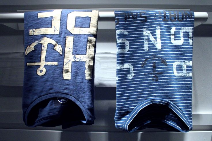 #Pitti #Immagine #Uomo #Firenze #summer2014 #collection #SS2015 #NorthSails #Stand #tshirt #stripes #blue #white #anchor #sailor
