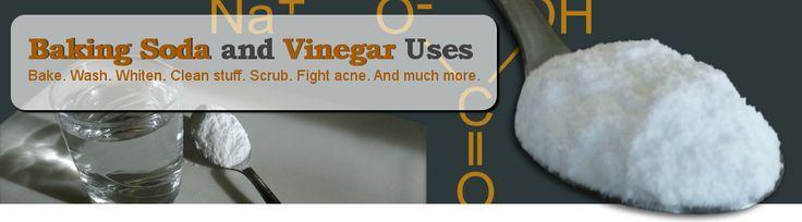 Baking Soda and Vinegar Uses