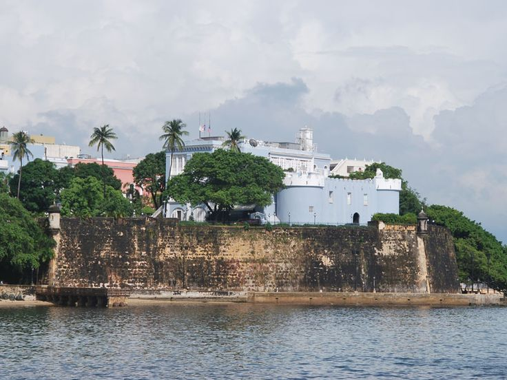 La Fortaleza (The Fortress) is the current official residence of the Governor of Puerto Rico. It was built between 1533 & 1540 to defend the harbor of San Juan. The structure is also known as Palacio de Santa Catalina (Santa Catalina's Palace). It is the oldest executive mansion in continuous use in the New World.  During the 1640 reconstruction, the chapel of Santa Catalina, which originally existed outside of the walls, was demolished & was integrated to the walls of the structure