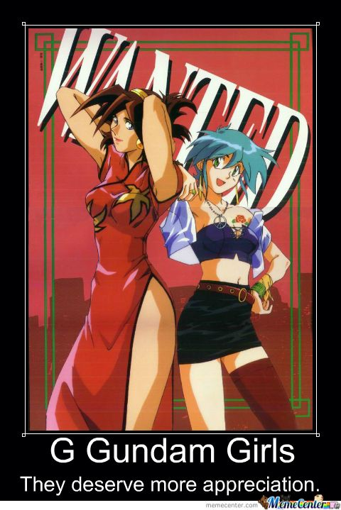 Mobile Fighter G Gundam Motivational Poster 13 by slyboyseth.deviantart.com on…