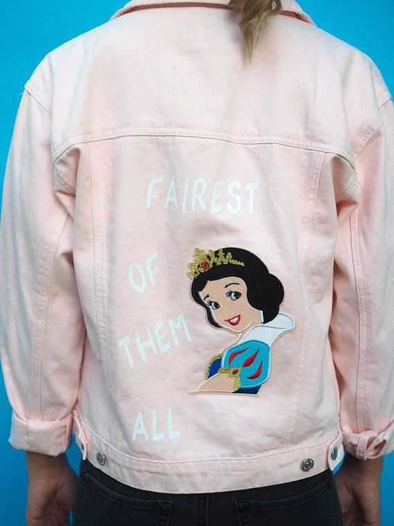 These Disney Princess Denim Jackets Are Closet Goals With Images