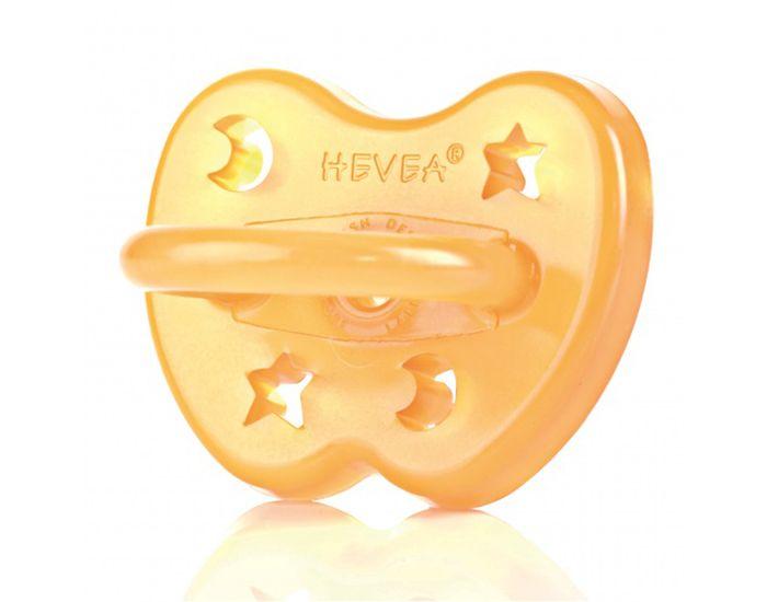Hevea étoile et lune orthodontique Sucette pour 0-3 mois