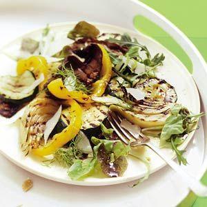 Recept - Salade van gegrilde groenten - Allerhande