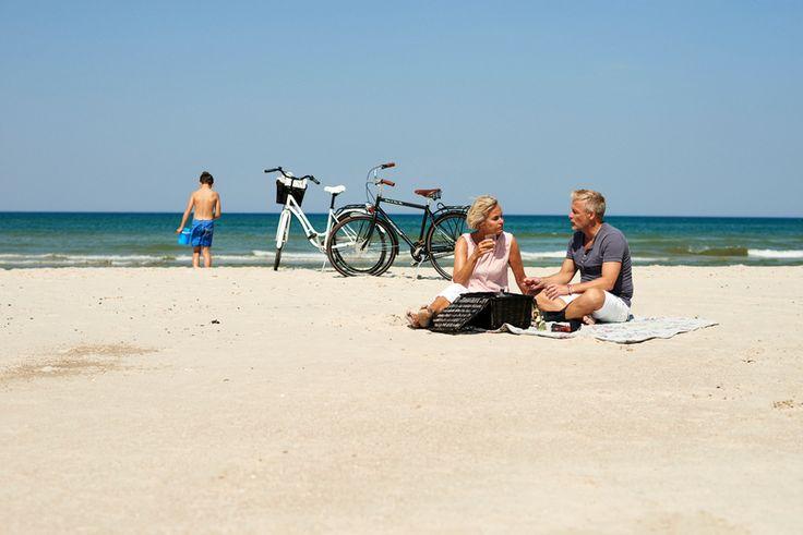 Picnic on the beach in West Jutland