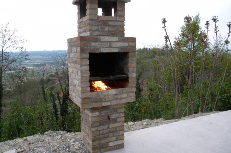 Cum să faci un grătar italian din cărămidă. Detalii pe BricoHub.ro