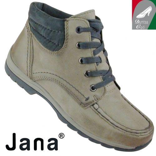 Jana női bőr bokacipő 8-25203-25 314 cigar