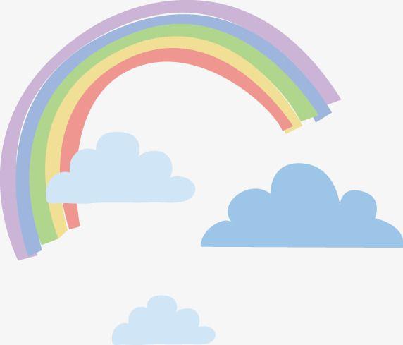Rainbow Clouds Vector Rainbow Vector Material Rainbow Vector Creative Rainbow Rainbow Png Png Vector Material Vector Rainbow Png Rainbow Cloud Cloud Vector