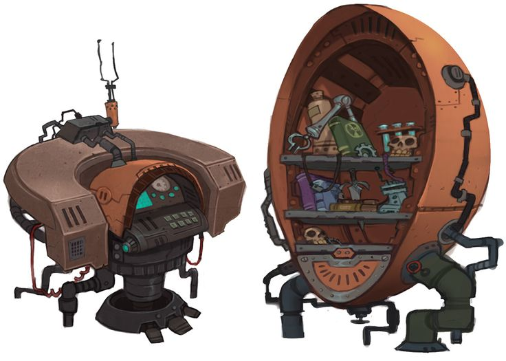 Chua Furnishings - Characters & Art - WildStar
