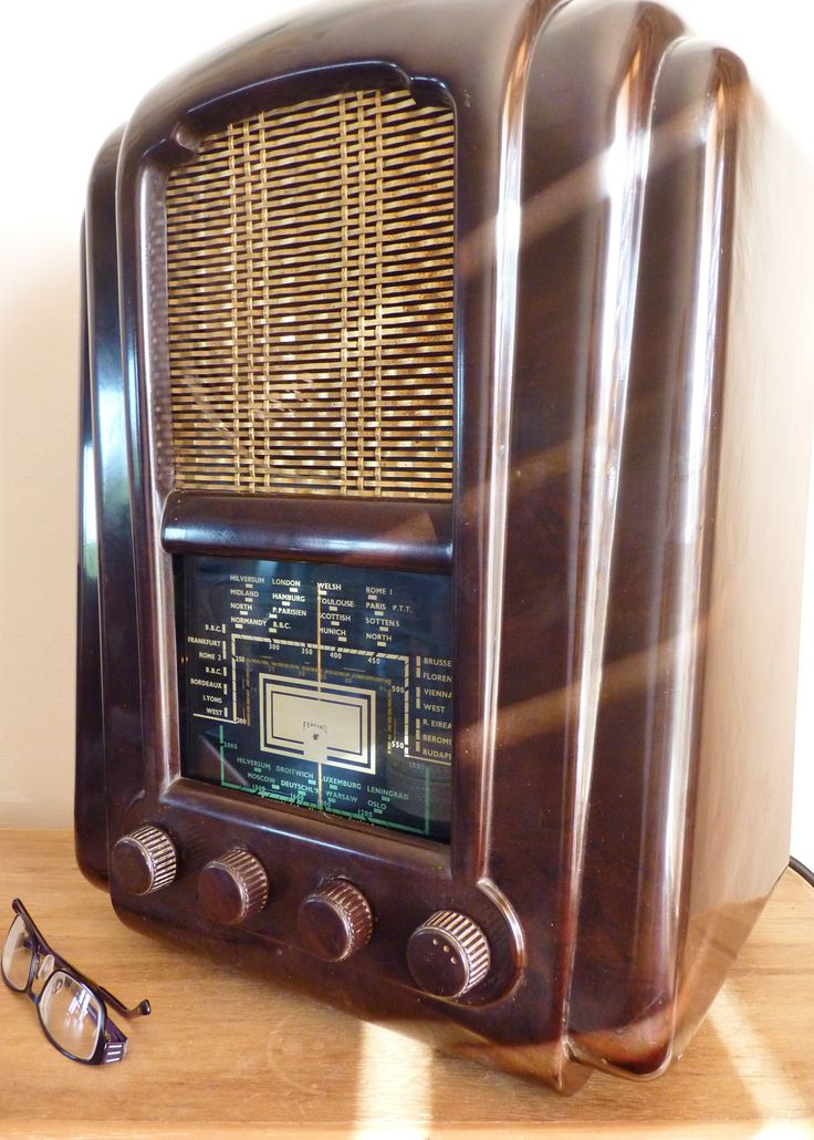 Jelly mould radio the first postwar set to appear on