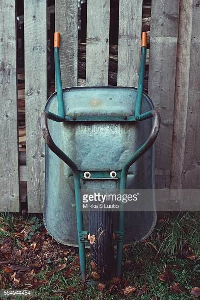 12-09 A cart resting on a barn in Thuringen, Germany.... #brotterode: 12-09 A cart resting on a barn in Thuringen, Germany.… #brotterode