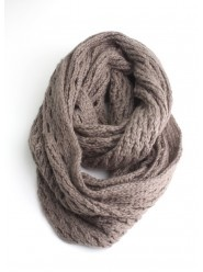 Wide Knit Infinity Scarf  $28.00