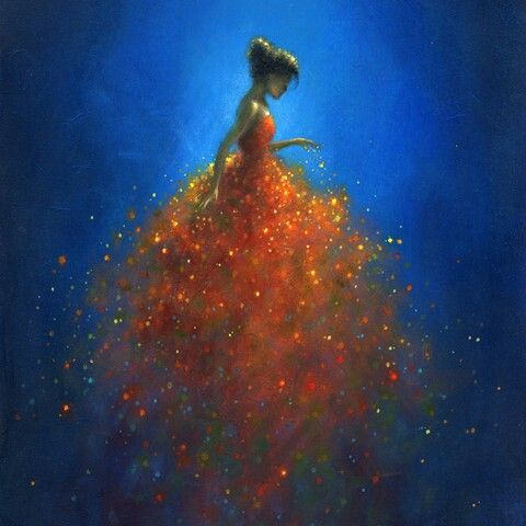 Jimmy Lawlor ~ Imaginary Dress #Art #Painting #Inspiration