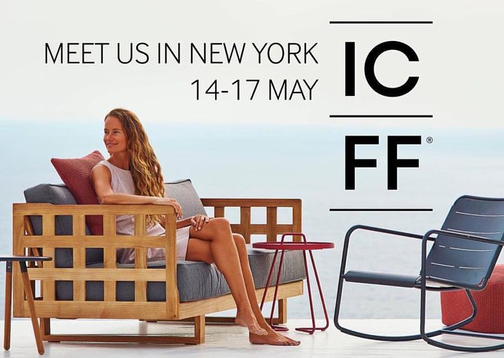 We are preparing for the ICFF exhibition in New York. Find us on level 1 booth 2118 at Jacob K. Jarits Center - May 14-17 2016 #caneline #exhibition #newyork #icff #icff2016 #outdoorfurniture #exterior #design