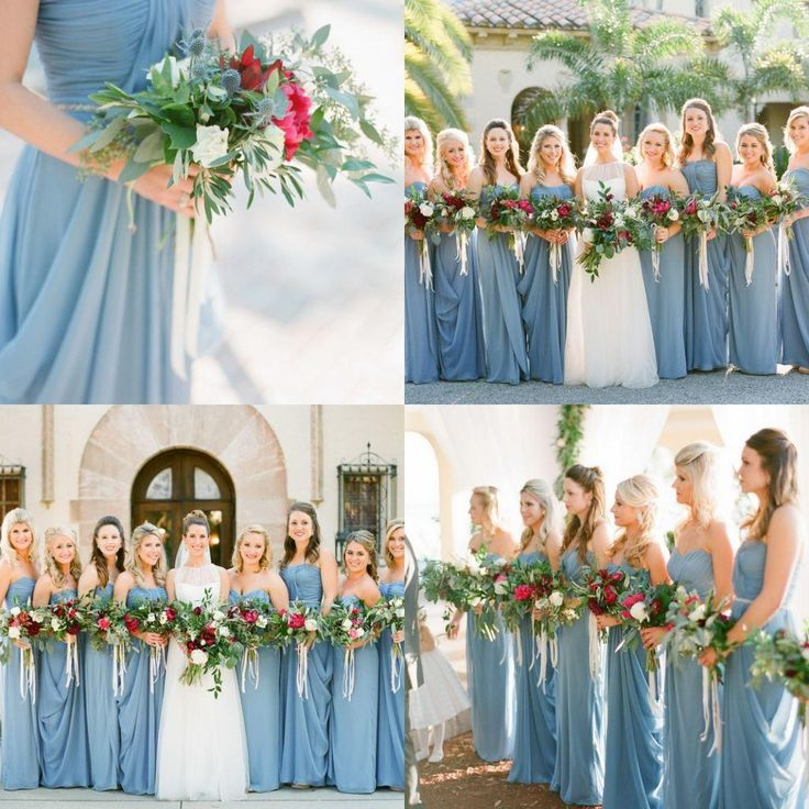 Dusty Blue Bridesmaid Dress 2016 - http://misskansasus.com/dusty-blue-bridesmaid-dress-2016/