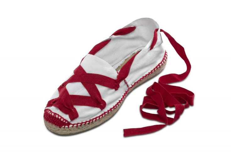 If there is one thing that identifies Pamplona in Spain and the rest of the world that is the San Fermín festival. We always have the PAMPLONICA espadrille in our shop. It is a flat espadrille for both men and women that is perfect for the festival because the materials it is made of (normally natural fibres, cotton, and a sole of hemp cloth) make it very light and cool. It is manufactured in white with crossed red ribbons tied to the ankle. The outer sole is flat and totally covered with…