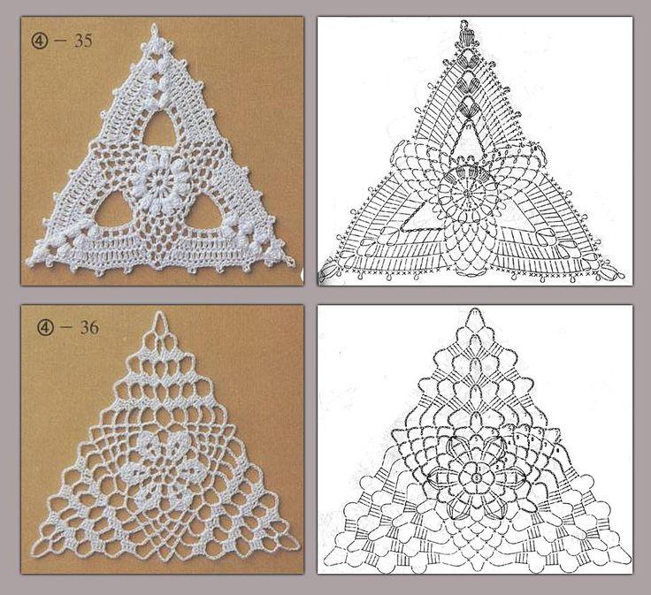 Google Crochet Pattern Central : Oltre 25 fantastiche idee su Uncinetto ad esagono su ...