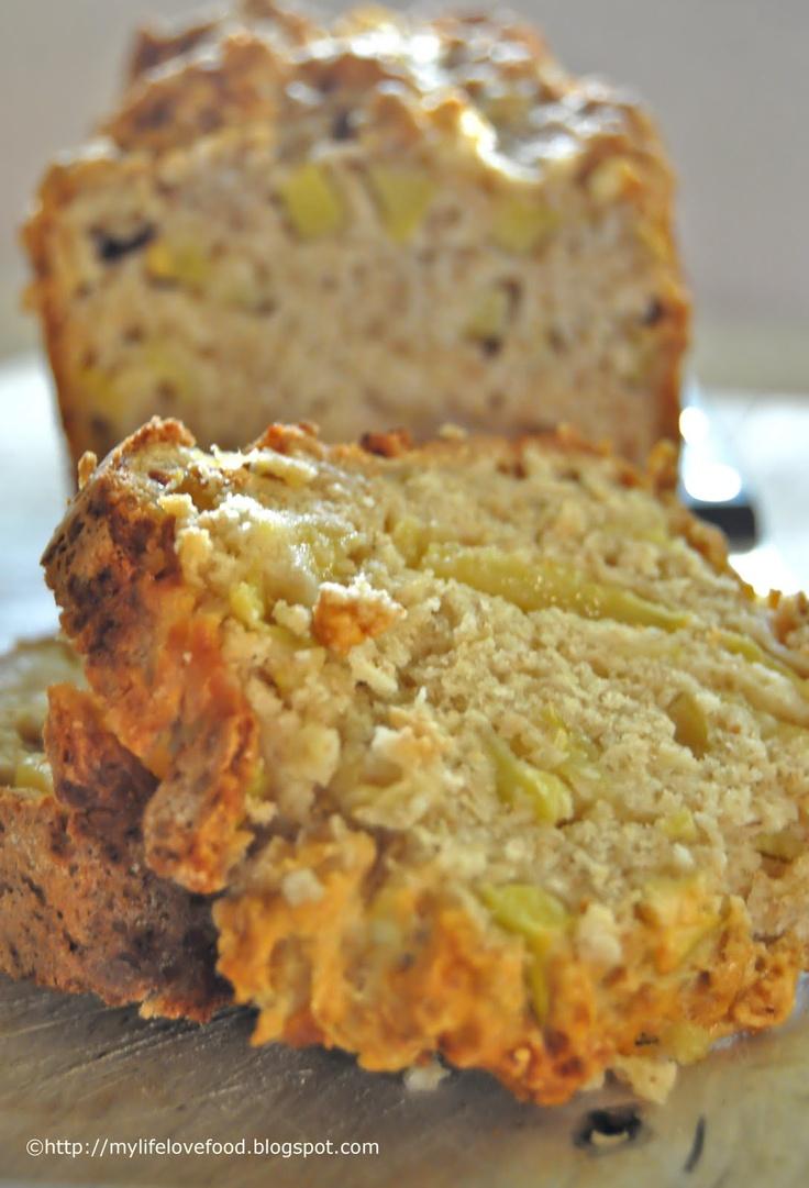 breakfast apple bread