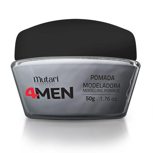 Kit 4men Mutari Pós Barba Shampoo Pomada Masculino Men Homem - R$ 59,90