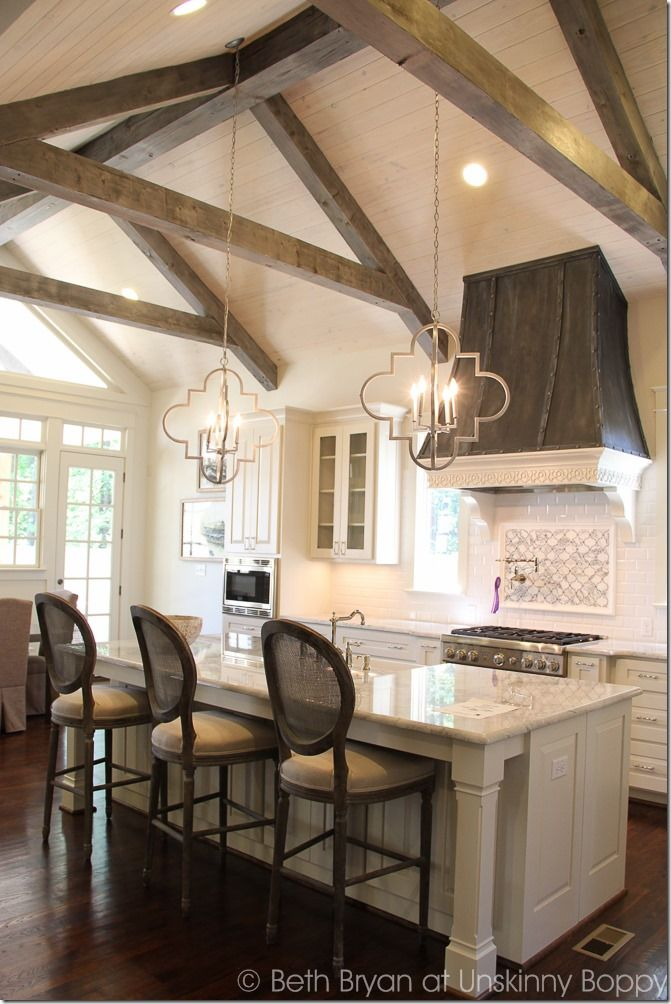 I Absolutely Love Exposed Beams, They Make A Great Focal Point And Are An  Incredible Feature :) Incredible Kitchen. 2015 Birmingham Parade Of Homes  Built By ...