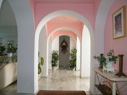 The Hall, very close to Puerto Banus and Marbella, Spain 40 mins from Malaga Airport.  John Neville Cohen.