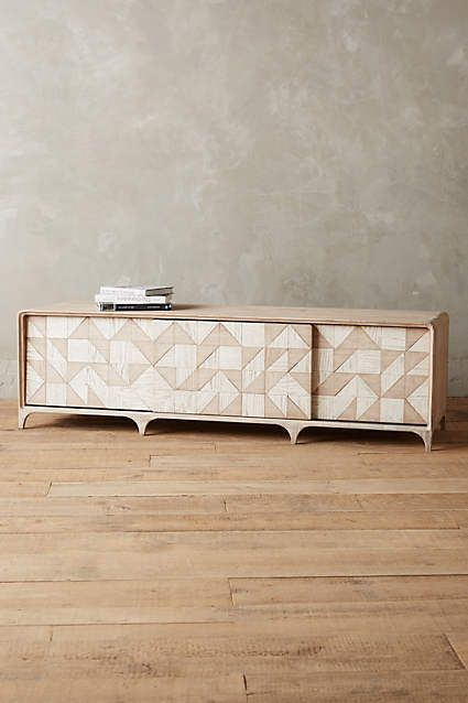 Sura Media Console - anthropologie.com