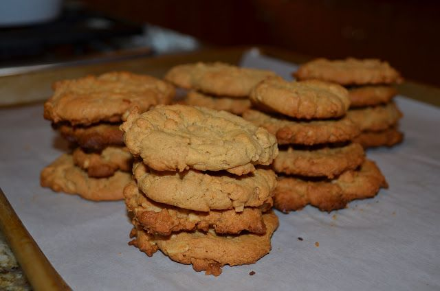 Wheat Belly Peanut Butter cookies - just made these - yummy! They hit the sweet spot,
