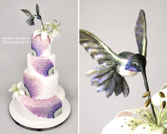 Amazing Hummingbird Cake | Cake by Heather Barranco Dreamcakes