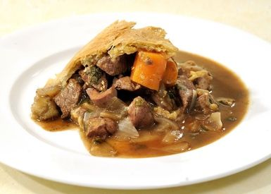 How to Make a Savory Steak and Kidney Pudding: Steak and Kidney Pudding