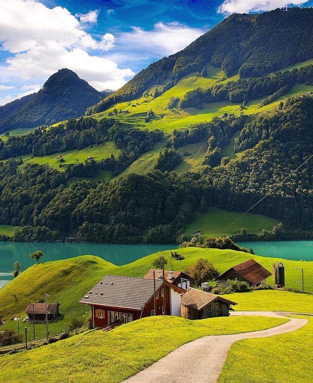 Lake Lungern, Switzerland