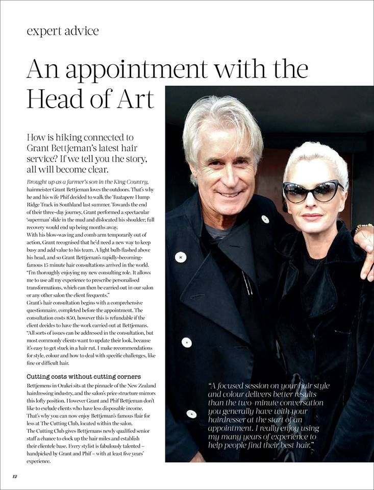 An Appointment with the Head of Art' :  Bettjemans Grant Bettjeman, Sasha Lenski and Amber Evans answer some frequently asked questions in Paula Ryan's Winter 2016 issue of Paula Style magazine. {Pick up your free copy at Bettjemans}'