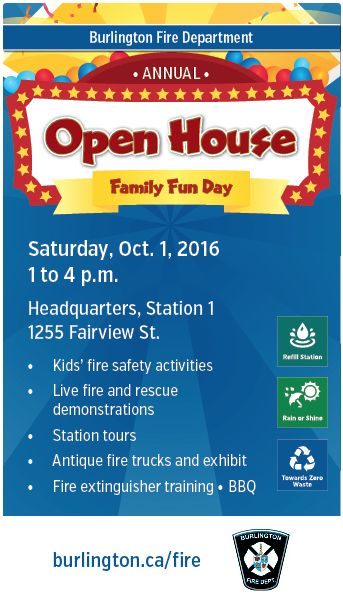 Burlington Fire Department hosts annual family Open House Oct. 1 | Keller Williams Edge Hearth & Home Realty, Brokerage