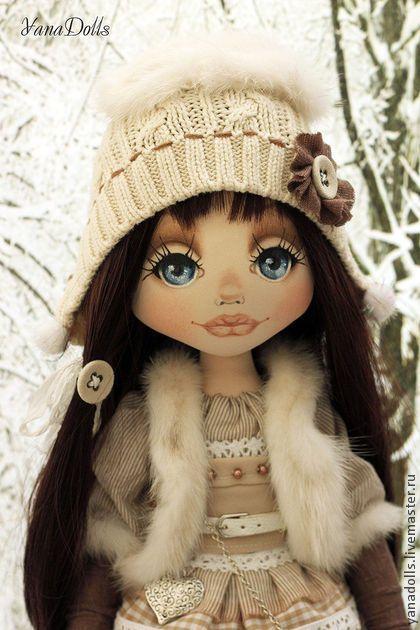 Герда - бежевый,кукла ручной работы,кукла,кукла в подарок,кукла текстильная