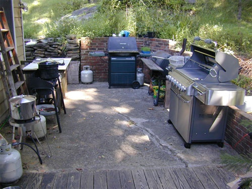 10 best outdoor canning kitchen images on pinterest | outdoor