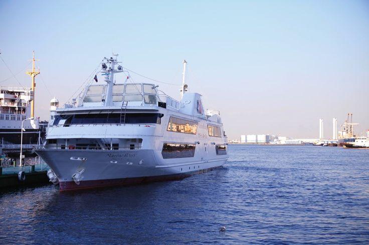 マリーンルージュ みなとみらい クルージング 海 船 横浜 山下公園 元町中華街 観光 ランチ ディナー