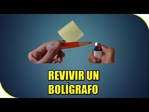COMO REVIVIR UN BOLI QUE NO PINTE | LIFE HACK | EXPERIMENTOS CASEROS - YouTube